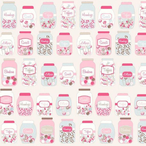 Geplastificeerd Katoen PVC Sweet Jars