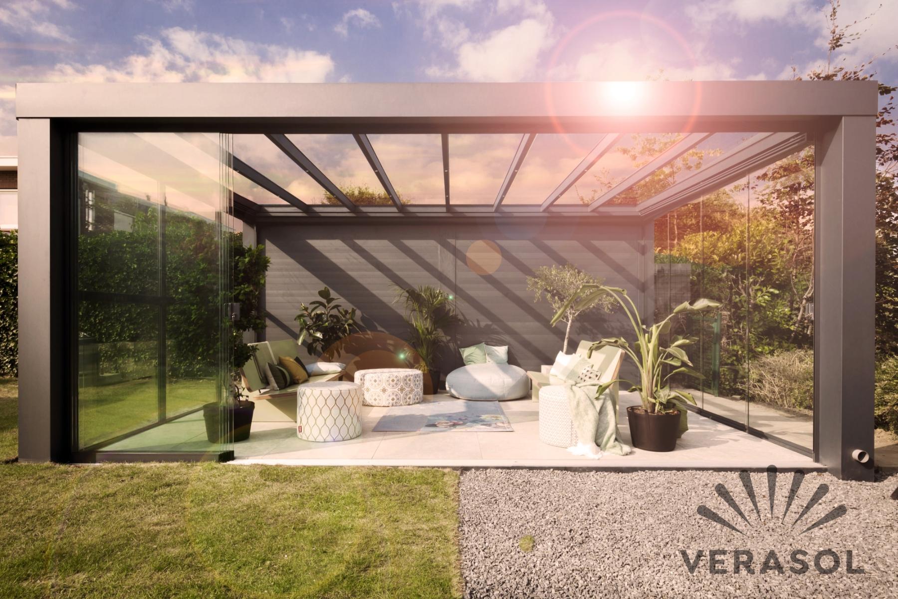 terras overkapping van Verasol